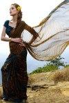 Designer Abstract Pinted saree