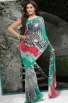 Printed Party Saree