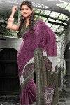 Designer Printed Party Saree