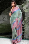 Printed Party Saree 2011