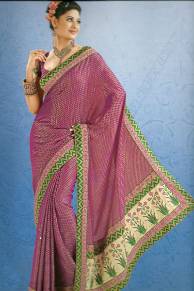 Latest Collection Traditional Saree For The Year 2011