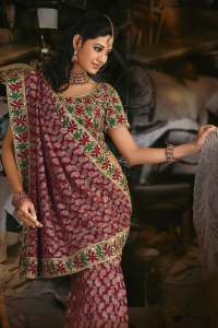 wedding day sarees bridal sarees
