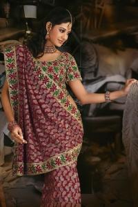 wedding day sarees bridal sarees
