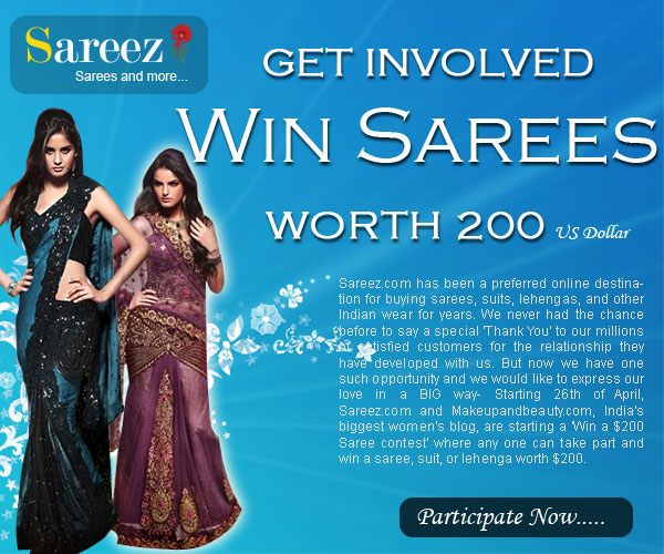 Win a Saree Contest