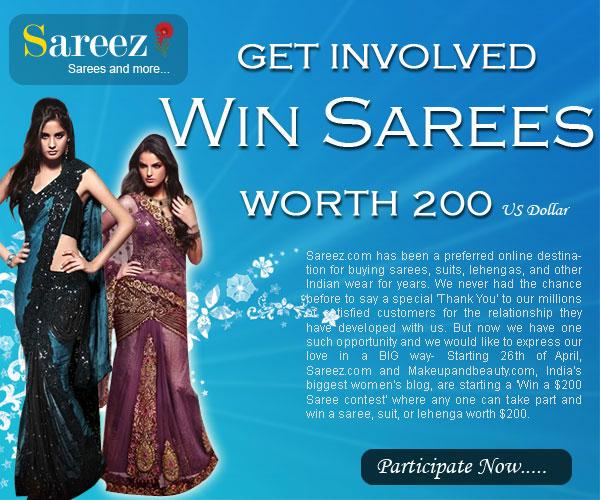 Win a Saree Contest