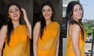 yellow-designer-saree