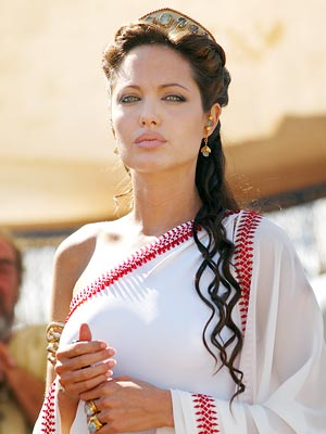 Angelina Jolie sarees