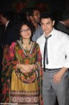 amir khan with wife kiran rao at ritesh genelia reception party