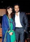 Bollywood Lovebirds Ritesh Deshmukh and Genelia D'souza