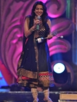 juhi chawla in an anarkali shalwar kameez at gr8 womens achievers awards 2012