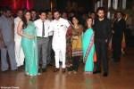 kareena kapoor amir khan saif ali khan kiran rao and imran khan with his wife at ritesh genelia wedding reception party