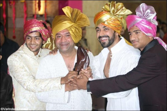 ken ghosh ashish chowdhury at genelia ritesh wedding