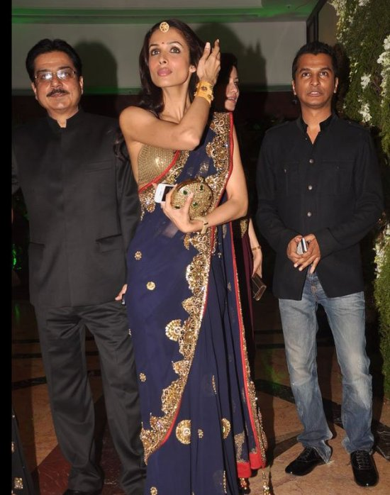 mallika arora khan at ritesh and genelia sangeet ceremony