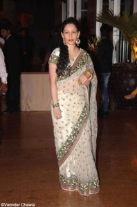 mannyata sanjay dutta at ritesh genelia wedding reception party