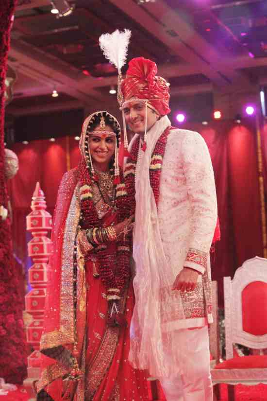 ritesh genelia at church for their wedding