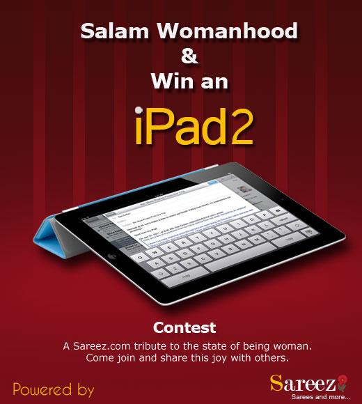 Sareez.com presents Win an iPad2 contest