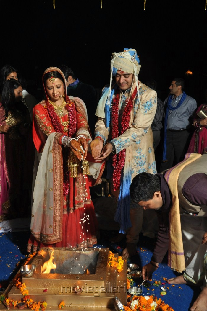 South Indian actress Reema Sen tied the knots with Delhi Based Hotelier Shiv
