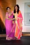 Aishwarya Rai Bachaan in a Baby Pink Designer Salwar Suit at Femina Womens Awards 2012