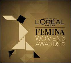 L'Oreal Paris Femina Woman's Award 2012