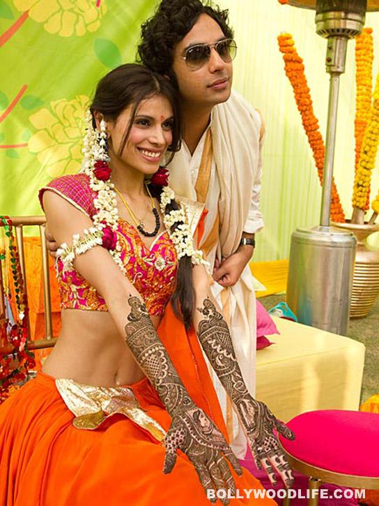 kunal nayyar with neha kapur