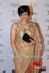 Mandira Bedi in a See Through Net Saree at Femina Womens Awards 2012