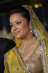 reema sen in a yellow lehenga choli