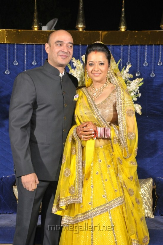 reema sen with her husband