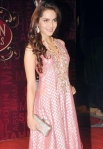 Shazahn Padamsee in a bollywood award show
