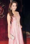 Shazahn Padamsee in a bollywood award show