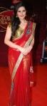 Zarine Khan in a bollywood award show