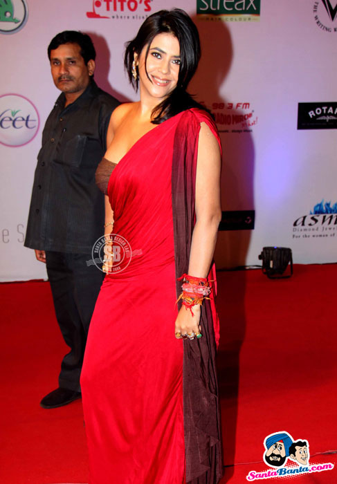 ekta kapoor at femina miss india fashion event 2012