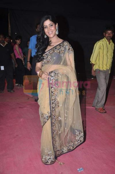 sakshi tanwar at femina miss india in bhavans on 30th march 2012 shown to user