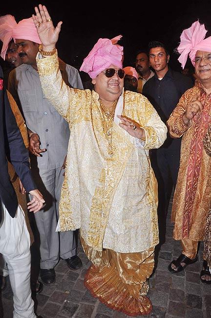 Bappi Lahiri in celebration