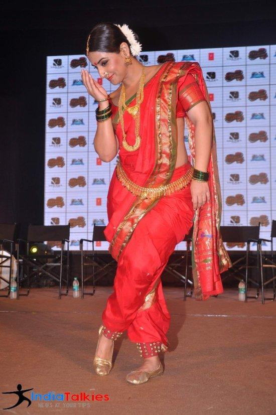 Vidya Balan in Marathi Saree