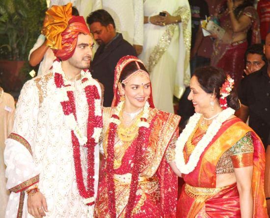 Bharat, Esha & Hema