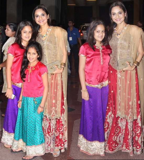 Madhu with her daughters