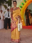 Madhoo in a traditional handloom saree