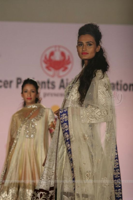 models walk the ramp for a cause