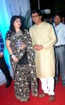 Raj Thackrey with wife Sharmila