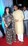 Raj Thackrey with wife Sharmila