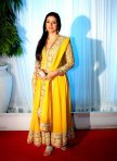 sunshine yellow anarkali