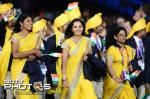 INDIAN ATHLETES IN TRADITIONAL ATTIRE IN THE LONDON OLYMPICS 2012