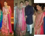 KAREENA IN A PINK LEHENGA IN HER WALIMA