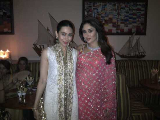 PRE WEDDING: KARISHMA AND KAREENA