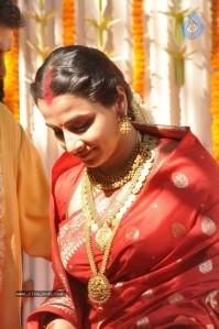 VIDYA IN WEDDING KANJEEVARAM SAREE
