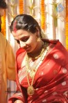 VIDYA IN WEDDING KANJEEVARAM SAREE