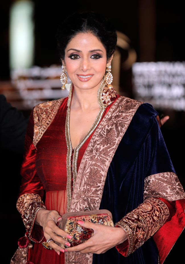 Sridevi at Marrakech Film Festival