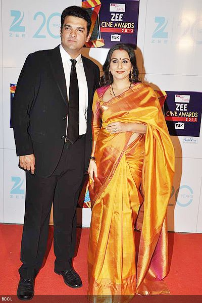 SIDDHART ROY KAPUR AND VIDYA BALAN MADE THEIR FIRST PUBLIC APPEARANCE AFTER THEIR MARRIGAE