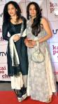 Masaba with Mom Neena at Kaipoche premiere