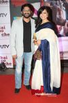 rshad warsi with maria at kai po che premiere